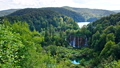 Picturesque waterfalls scenery in Plitvice Lakes 28732818