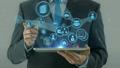 タブレット グローバル テクノロジーの動画 28802162