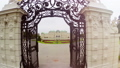 Belvedere Palace aerial fly through gates, famous  28831833