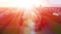 Religion symbol, bright light from church, Love an 28831837