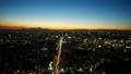 日没 夕焼け 夜景の動画 28906654