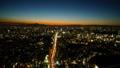 日没 夕焼け 夜景の動画 28906660