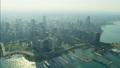 空撮 シカゴ 高層ビル群の動画 29009108