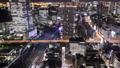 メガポリス東京 躍動する大都会の夜 浜松町、芝浦、東京湾 タイムラプス ティルトアップ 29073030