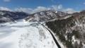 冬のさっぽろ湖(空撮 移動撮影) 29236986