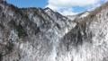 冬の北海道の山並み(空撮 移動撮影) 29236987