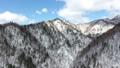 冬の北海道の山並み(空撮 移動撮影) 29236988