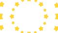 花火や波紋のように広がる星 円形 黄色 背景透過・アルファチャンネル付き 29310635
