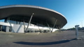 An entrance to a Russian airport. A timelapse 29331744