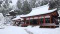 1月 積雪の長命(ちょうめい)寺 近江の冬景色 29372790