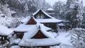 1月 積雪の長命(ちょうめい)寺 近江の冬景色 29372792