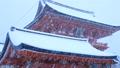 1月冬 雪の伏見稲荷大社楼門 京都の雪景色 29372794