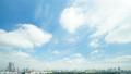 東京タイムラプス 全景 超ワイド 新宿御苑と都心全景 大空たっぷりコピースペース ズームアウト 29391877