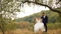 Groom is swinging her beautiful bride in white 29444631