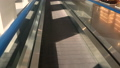 Slow motion Escalator at international airport 29475604