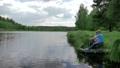 ファミリー 家族 釣りの動画 29482198