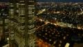 東京タイムラプス 長時間撮影 新宿高層ビル街 東京都庁 夕景から夜景へ パンナロー 29557439