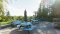 Park backyard area. Bbq area 29599476