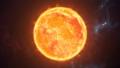 Sun the burning planet in cosmic scene 29854956
