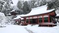 1月 積雪の長命(ちょうめい)寺 近江の冬景色 30114742