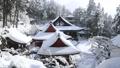1月 積雪の長命(ちょうめい)寺 近江の冬景色 30114745
