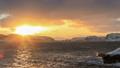 Sunset on the Barents Sea. Teriberka, Murmansk 30219300
