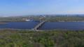 Kiev in spring park river and bridge on the 30287786