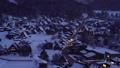 冬の夜の白川郷 (4K撮影HD化高精細画質) 30512736