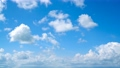 空 青空 雲の動画 30537599