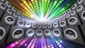 ดิสโก้คลับฟลอร์เต้นรำดีเจลำโพง Sound Beat 30538656