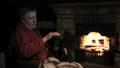 暖炉 いろり 囲炉裏の動画 30672797
