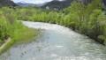 春の豊平川(札幌市 フィクス撮影) 30726102