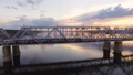 Railway bridge across the Volga river, which goes 31035041