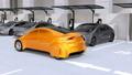 電気自動車 乗用車 自動車の動画 31037515