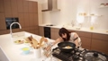 Video material Stock women to cook in the kitchen 31103387