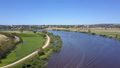 Aerial video of flying over the Murray River in 31104893
