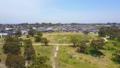 Aerial video of flying toward resdiential houses 31104897