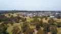 Aerial video of flying toward resdiential houses 31104903