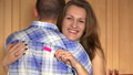 Cheerful smiling wife woman embrace her husband 31196949