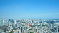Tokyo Time Lapse Tokyo Tower Roppongi wants to see the whole city center Spring green zoom in 31317735