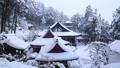 1月 積雪の長命(ちょうめい)寺 近江の冬景色 31319031