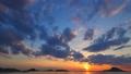 夕焼けの海  perming4k17060402-HD1080h264 映像素材 31425472