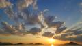 夕焼けの海   perming4k17060402-HD1080ProRes422 映像素材 31425473