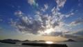 夕焼けの海  permingM17060402 映像素材 31425475
