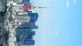 タテ素材 東京タイムラプス 東京都心の高層ビル群 東京タワーと周辺の街並 右アキ 31462352