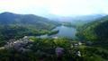 湯の湖 空撮 風景の動画 31768337