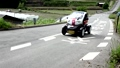 奈良県明日香村/稲渕の棚田を走る超小型電気自動車 31789071