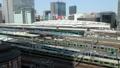 メガポリス東京 東京駅と行き交う列車 タイムラプス フィックス 31903245