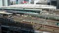 メガポリス東京 東京駅と行き交う列車 タイムラプス パン 31903248
