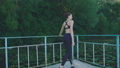 bridge, yoga, nature 31989204